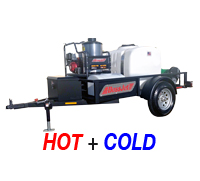 Hot Water Jetter Trailers