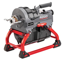 RIDGID Sectional Sewer Cable Machines